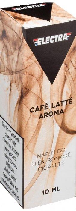 Ecoliquid (CZ) Káva latté - ELECTRA - český liquid - 10ml Síla nikotinu: 0mg