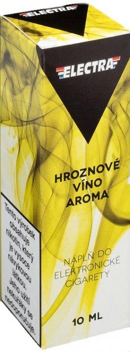 Ecoliquid (CZ) Hroznové víno - ELECTRA - český liquid - 10ml Síla nikotinu: 0mg