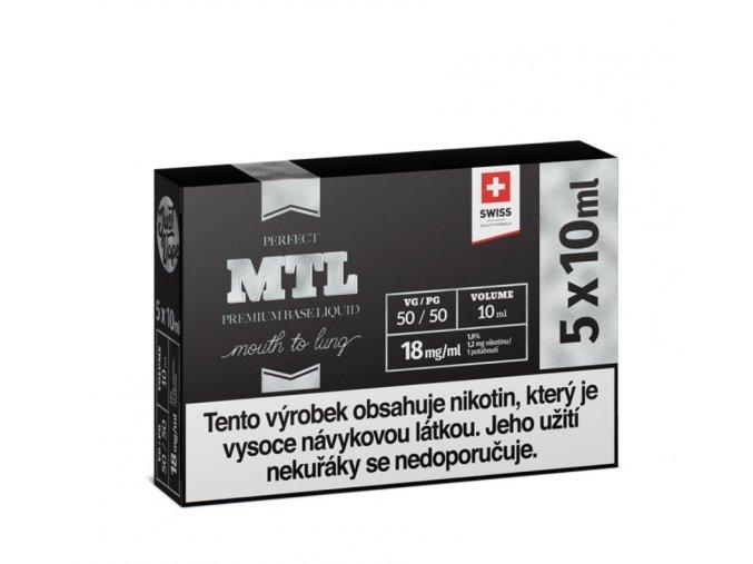 Booster báze JustVape MTL 5x10ml 18mg