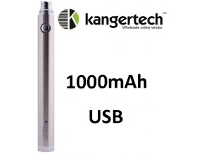 Kangertech EVOD baterie s USB 1000mAh Silver
