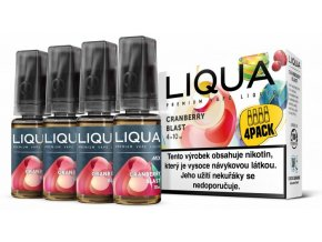 Liquid LIQUA CZ MIX 4Pack Cranberry Blast 10ml-6mg