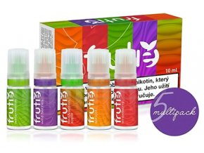 frutie e liquid napln juice variety pack multipack 5x10ml