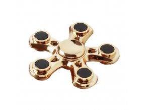 fidget-spinner-hvezdice-zlata