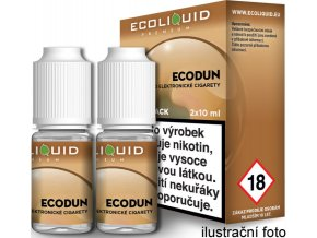 Liquid Ecoliquid Premium 2Pack ECODUN 2x10ml - 3mg