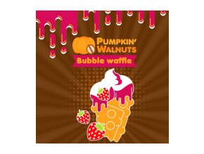Big Mouth Pumpkin´ Walnuts Bubble Waffle