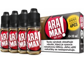 aramax 4pack coffee max 4x10ml