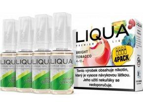 liqua cz elements 4pack bright tobacco 4x10ml cista tabakova prichut