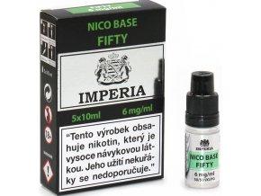 nikotinova baze cz imperia 5x10ml pg50vg50 6mg