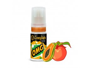 crazyvape prichut omg broskev a papaya