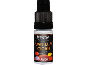 prichut imperia black label 10ml vanill cigar tabak s vanilkou