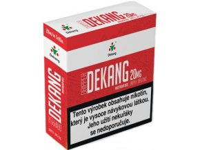 nikotinova baze dekang dripper 5x10ml pg30vg70 20mg