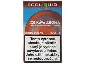 Liquid Ecoliquid Premium 2Pack Ice Coffee 2x10ml - 3mg
