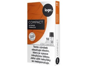 JTI Logic Compact cartridge Intense Tobacco 18mg