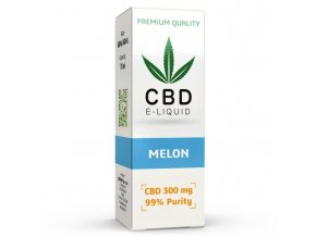 CBD Vape Liquid - 10ml - 300mg - 3% - Meloun