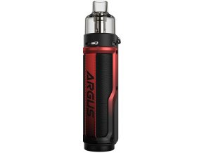 VOOPOO Argus X 80W grip Full Kit Litchi Leather and Red
