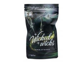 Bombertech Wicked Wicks - Přírodní vata - 1 m