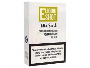 E-liquid Shot - Booster - NicSalt - 50/50 - 20mg - 5x10ml