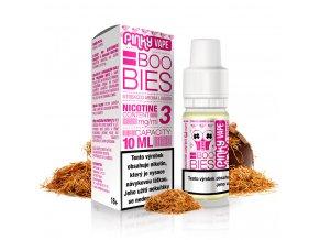Pinky Vape - E-liquid - 10ml - 18mg - Boobies (Holandský tabák)