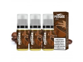 PEEGEE Káva 3x10ml