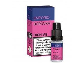 Liquid Emporio HIGH VG - Borůvka - 10ml - 3mg