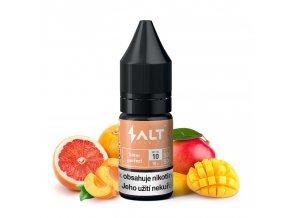 Salt Brew CO - 10ml - 10mg - Bitter Perfect (Grapefruit s mangem a meruňkou)