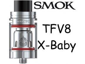 Smoktech TFV8 X-Baby clearomizer Silver