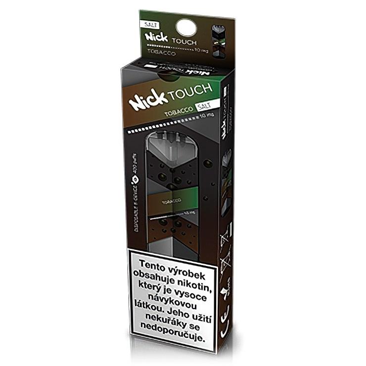 Nick Touch Salt elektronická cigareta Tobacco 10mg