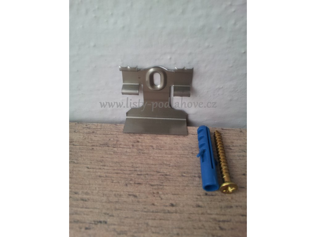 Lišta KP40 Úchyt pro lištu SU 40x20mm (balení 15 ks)