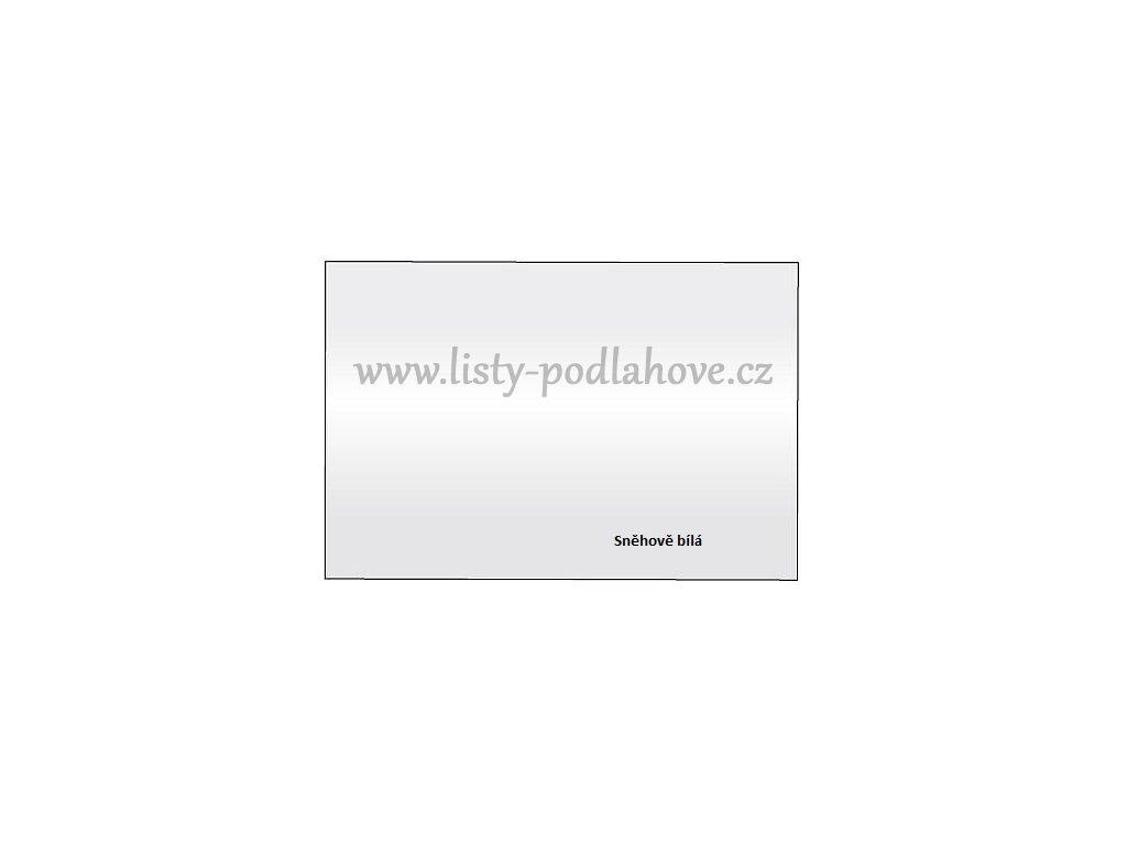 Ochanný roh PVC 4x4x270 cm  Bílý