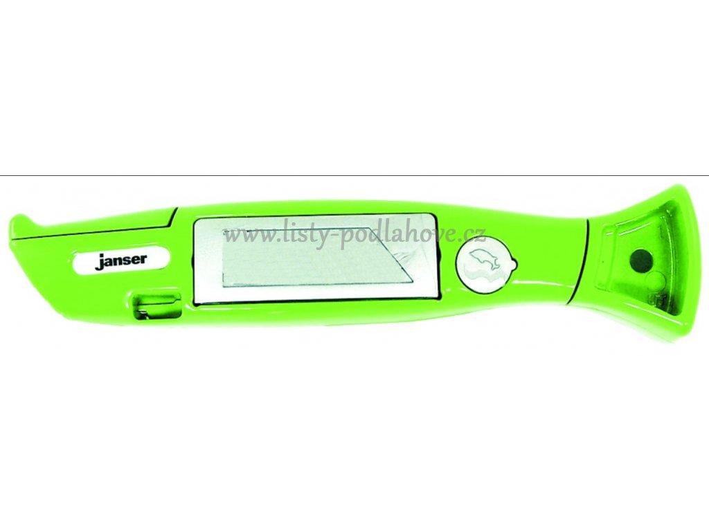 Janser Harlekin zelený