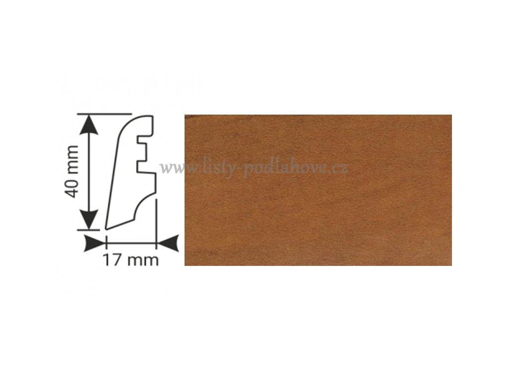 K-Produkt lišta KP40 23142 Třešeň D