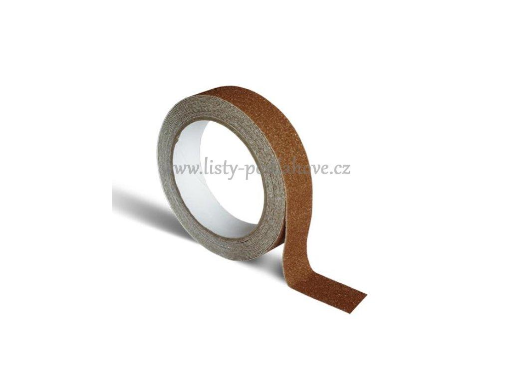 Páska hnědá 25 mm