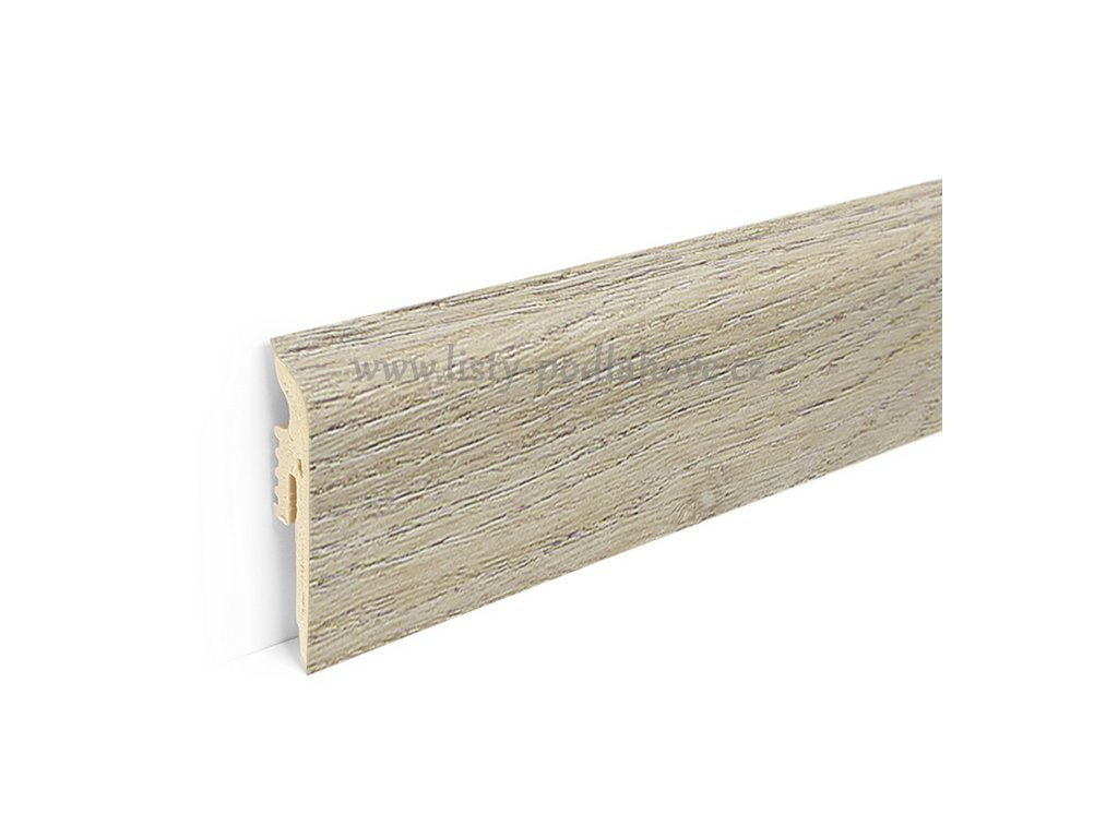 PVC soklová lišta k podlaze Afirmax BiClick | 112 Bradford Oak (220 cm)