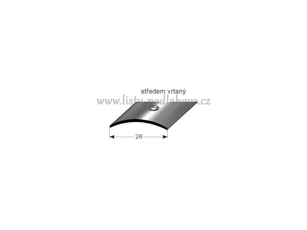 Přechodový profil  28 x 1,5 mm, šroubovací