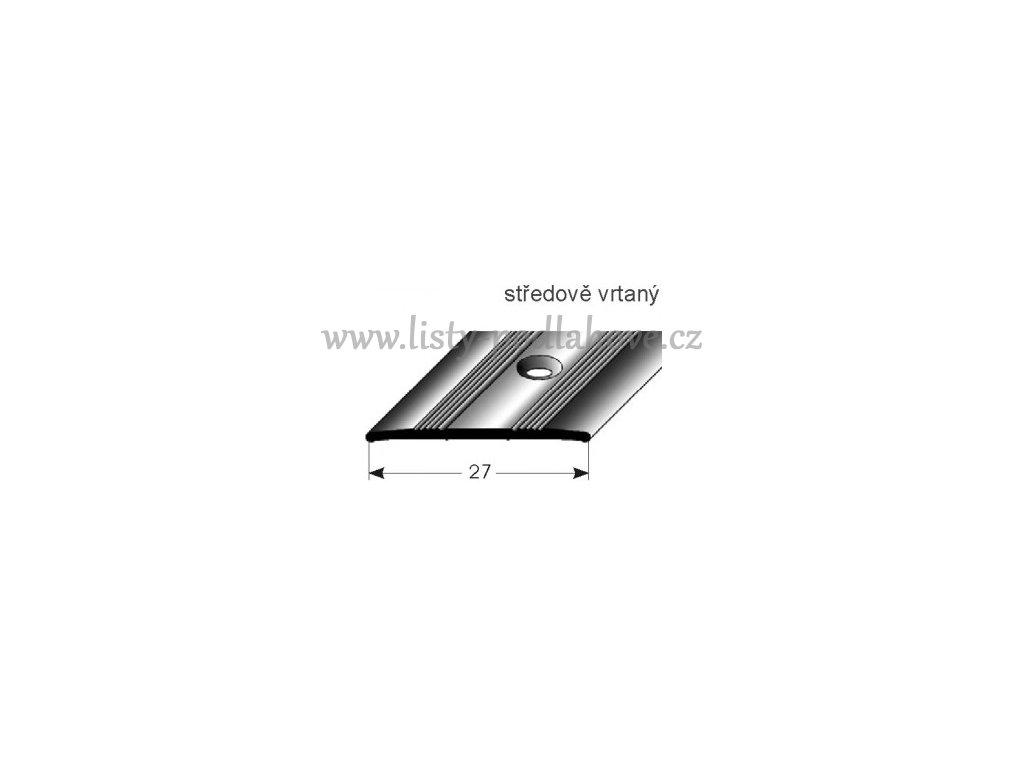 Přechodový profil  27 x 1,7 mm, šroubovací