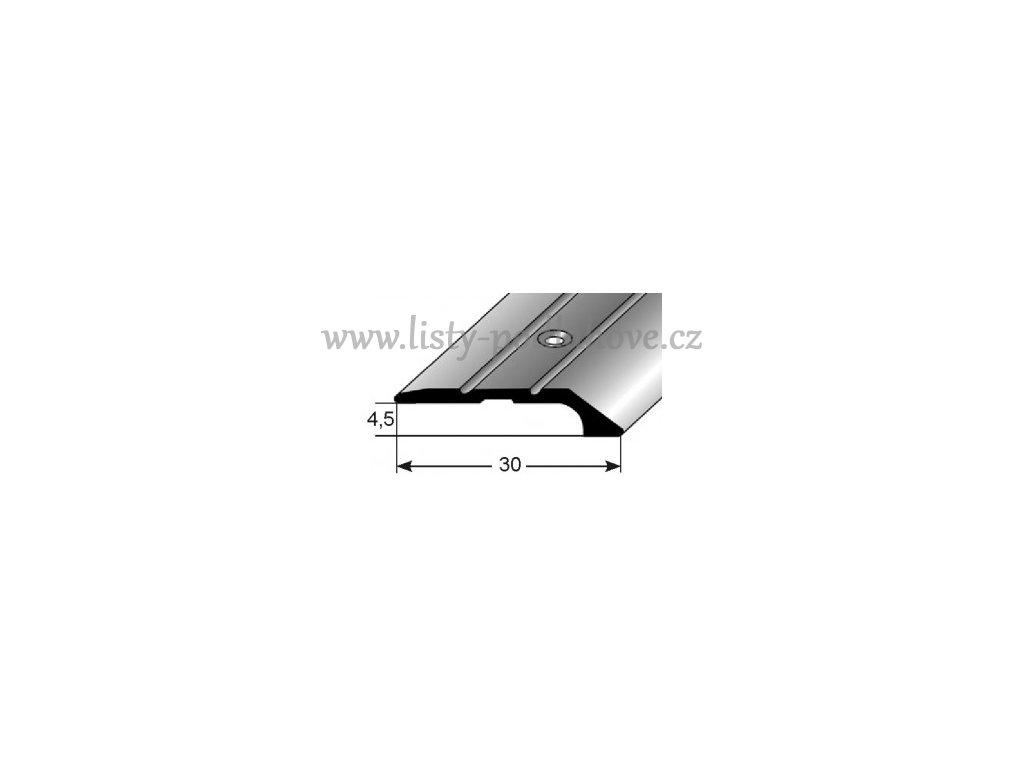 Ukončovací profil  30 x 4,5 mm, šroubovací