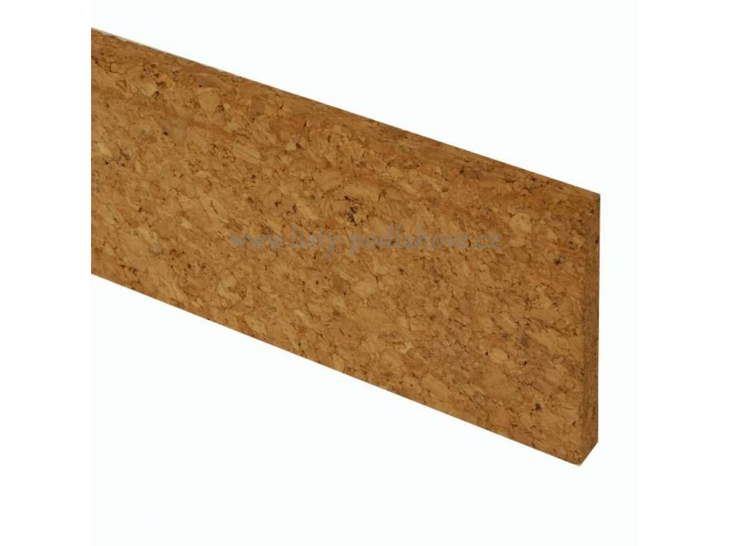 Lišta korková přírodní 5 cm