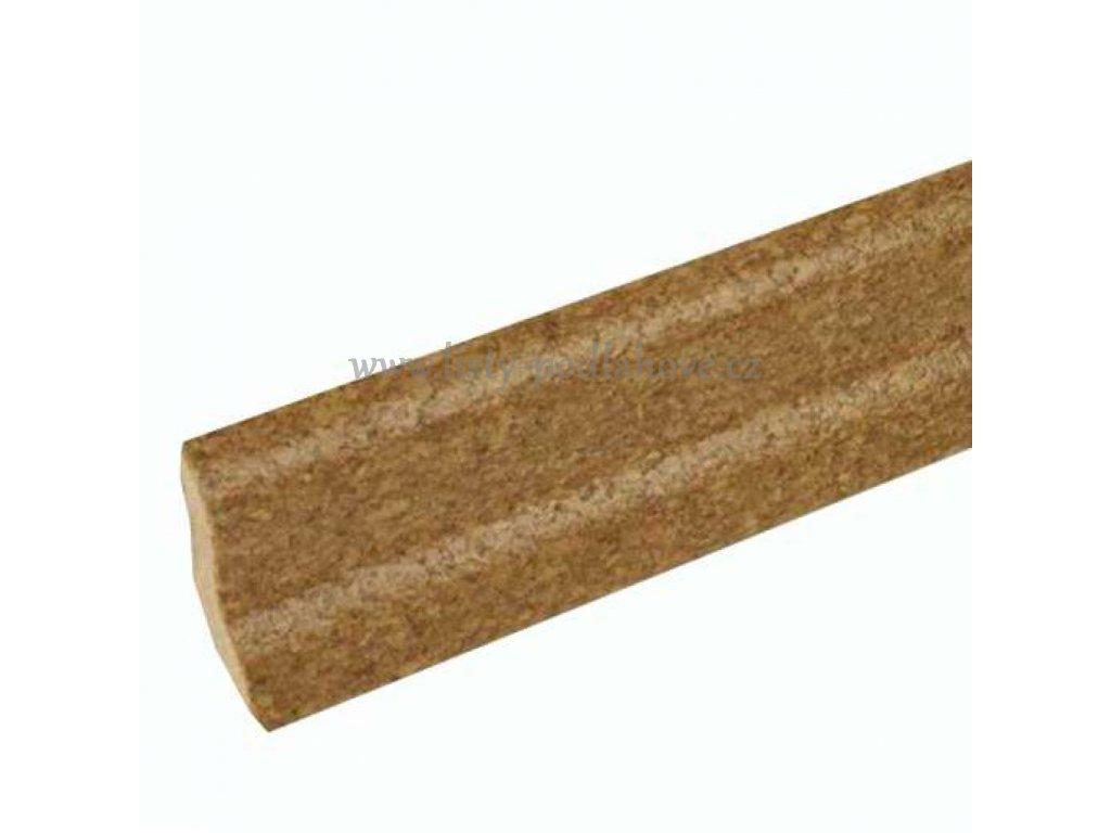 Lišta MDF korek jemný 2,7 bm - DOPRODEJ