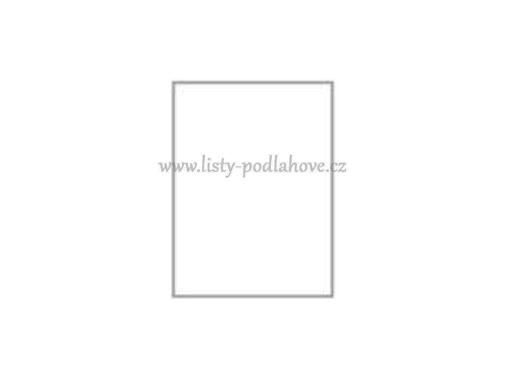 Soklová lišta k PVC 32 x 32 mm, barva 112 bílá
