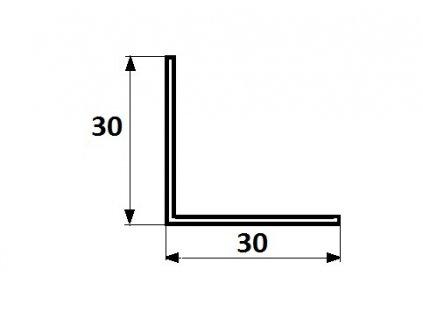 Ochanný roh PVC 3x3x270 cm, Bílý