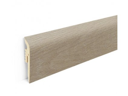 PVC soklová lišta k podlaze Afirmax BiClick   107 Vermont Oak (220 cm)