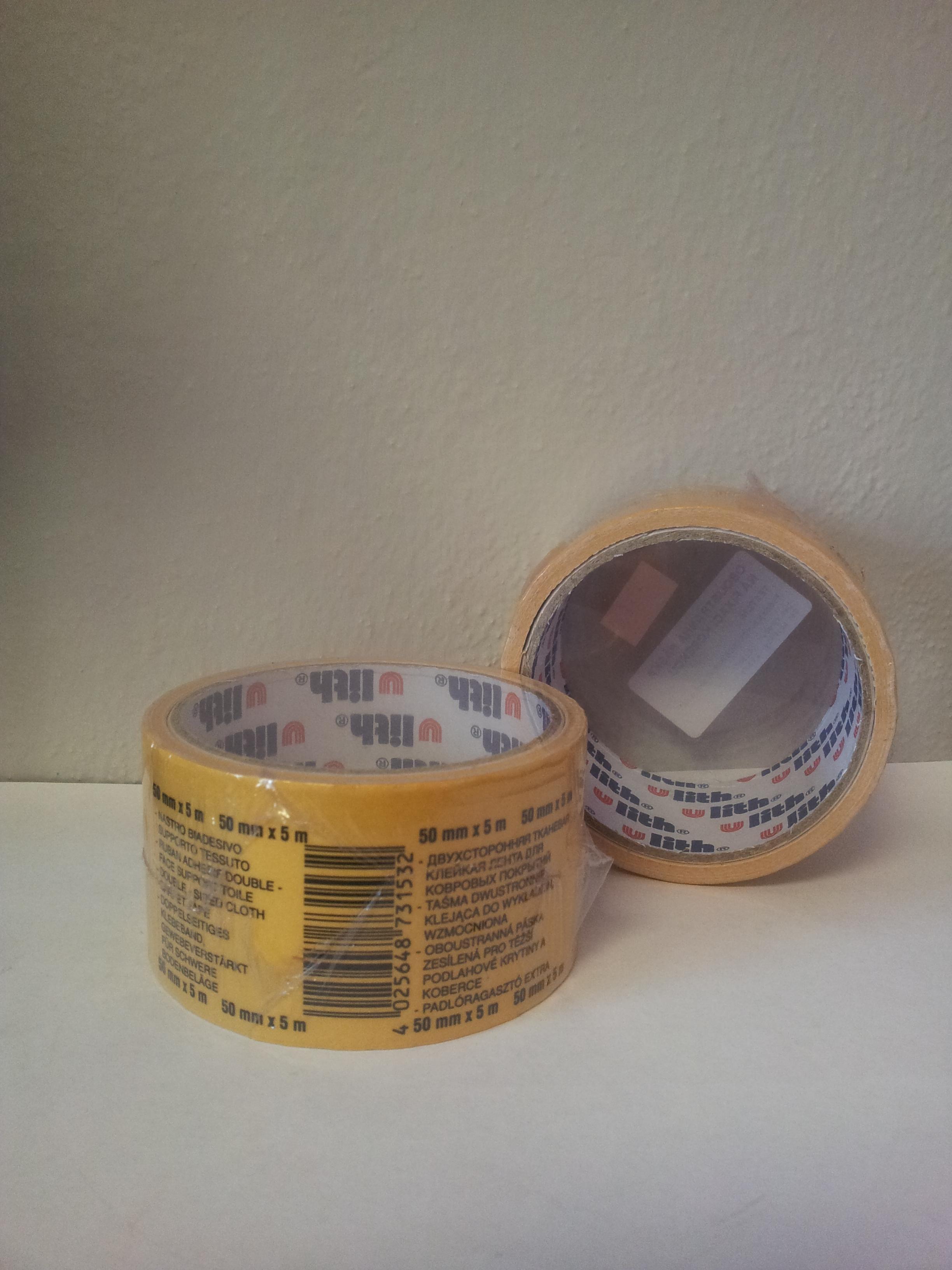 Kobercová páska - textilní 5 bm