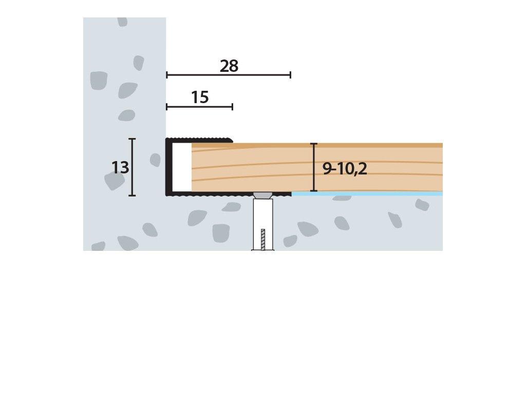 UP 28x13x9 10,2 V 1