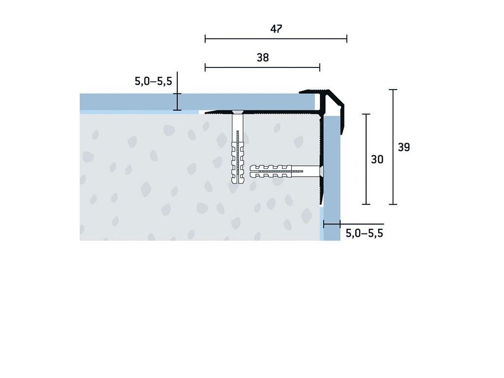 SP 47x39x5 5,5 V 1