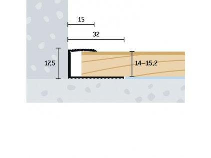 UP 32x17,5x14 15,2 V 1