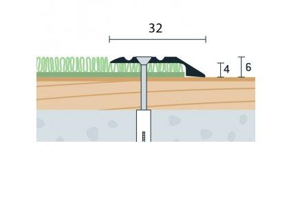 UP 32x6x4 V 1