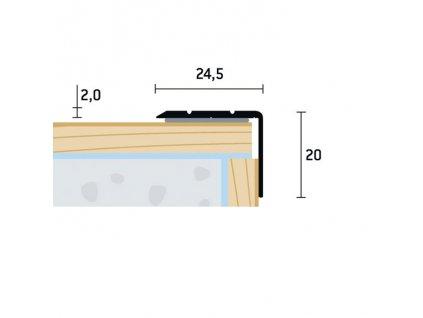 SH 24,5x20 S 1