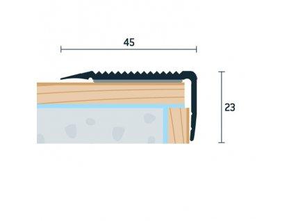 SP 45x23 S 1