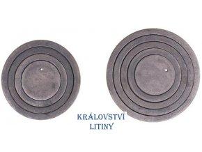 Kroužky do plátů typ K-216
