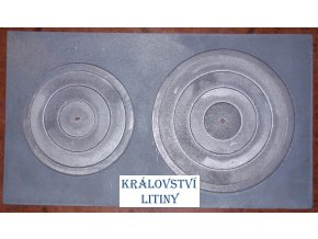 Plát kamnový velký se dvěma otvory typ 45.280